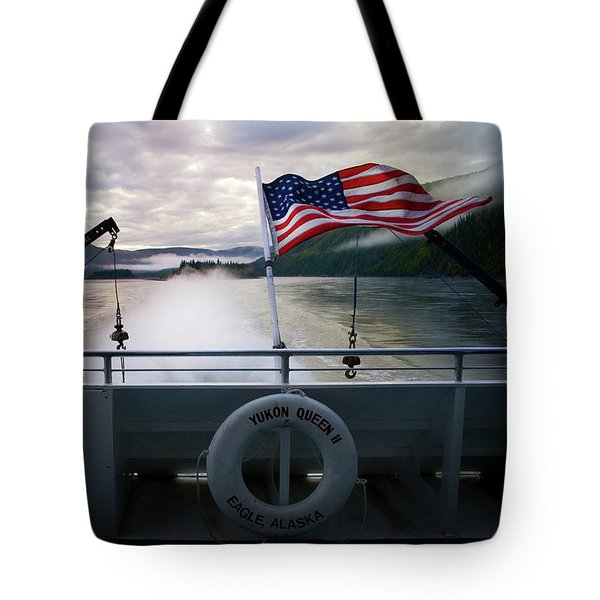 Tote Bag featuring the photograph Yukon Queen by Ann Lauwers