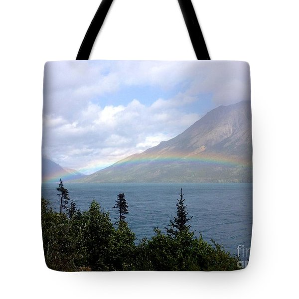 Yukon Rainbow Tote Bag