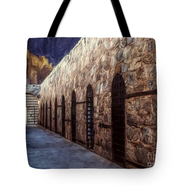 Yuma Prison Cellblock  ... Tote Bag