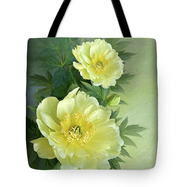 Yumi Itoh Peony Tote Bag by Thanh Thuy Nguyen