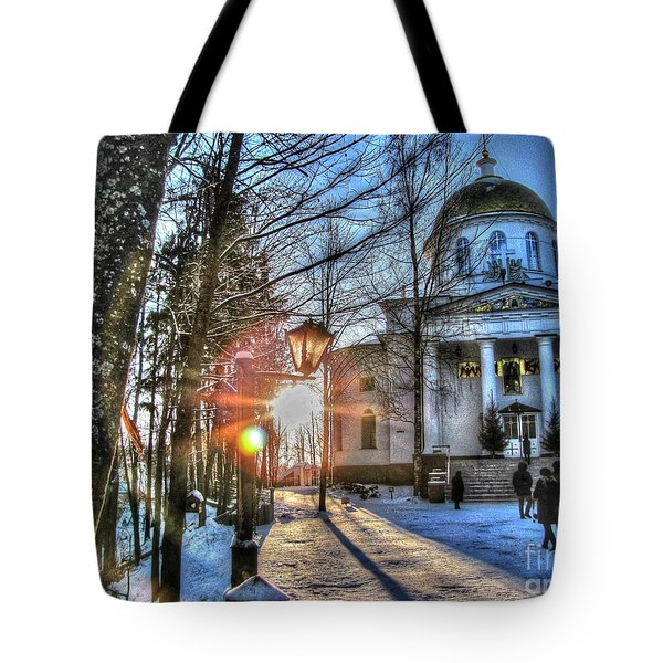 Yury Bashkin Churches, Russia Tote Bag by Yury Bashkin