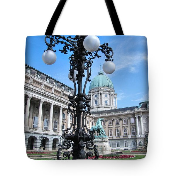 Tote Bag featuring the pyrography Yury Bashkin Hungary by Yury Bashkin