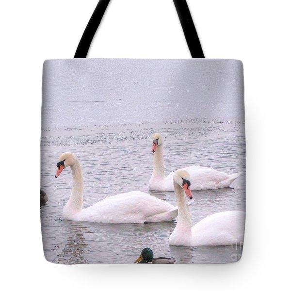 Tote Bag featuring the photograph Yury Bashkin Lake by Yury Bashkin