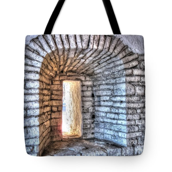 Yury Bashkin Old Window Tote Bag by Yury Bashkin