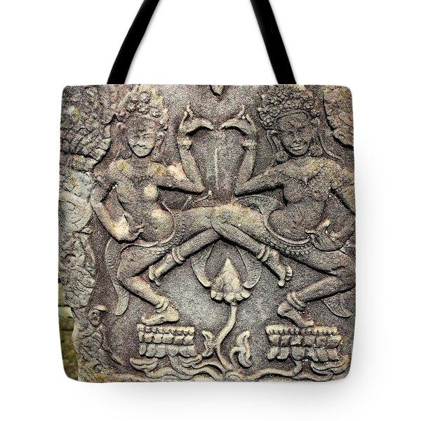 Tote Bag featuring the pyrography Yury Bashkin Ost Symbol by Yury Bashkin