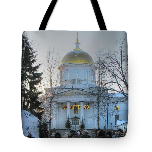 Tote Bag featuring the pyrography Yury Bashkin Russia by Yury Bashkin
