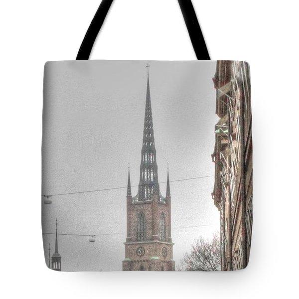 Tote Bag featuring the pyrography Yury Bashkin Top by Yury Bashkin