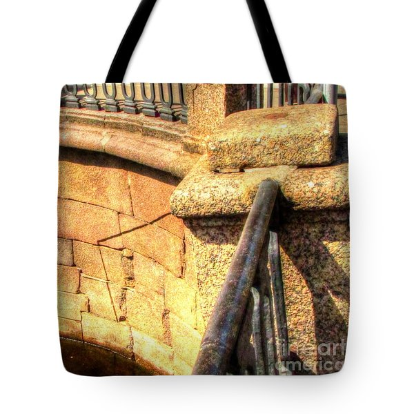 Yury Bashkincity Element Tote Bag by Yury Bashkin