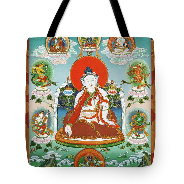 Yuthok Bumseng With Retinue Tote Bag by Sergey Noskov