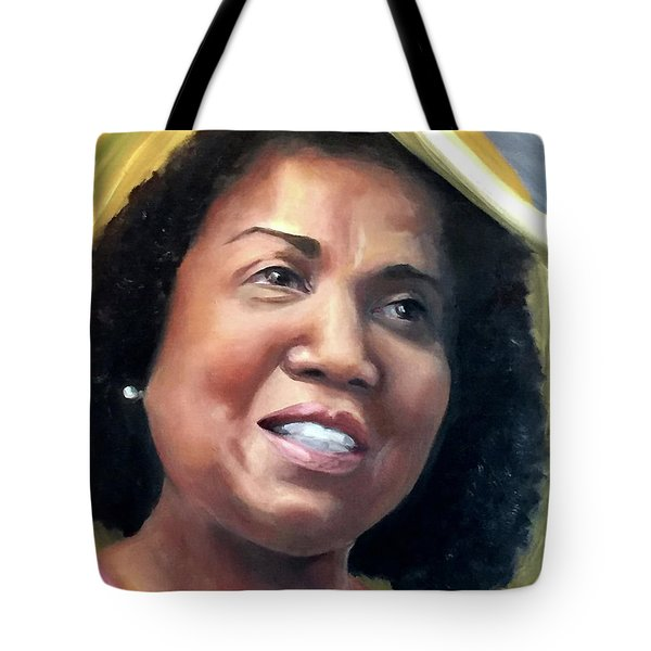 Yvonne Tote Bag by Diane Daigle