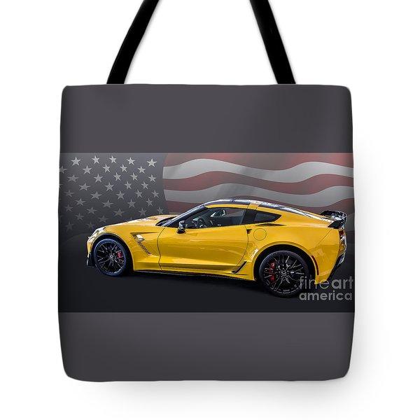 Z06 America Tote Bag