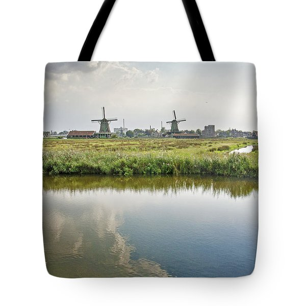 Zaandam Skyline Tote Bag