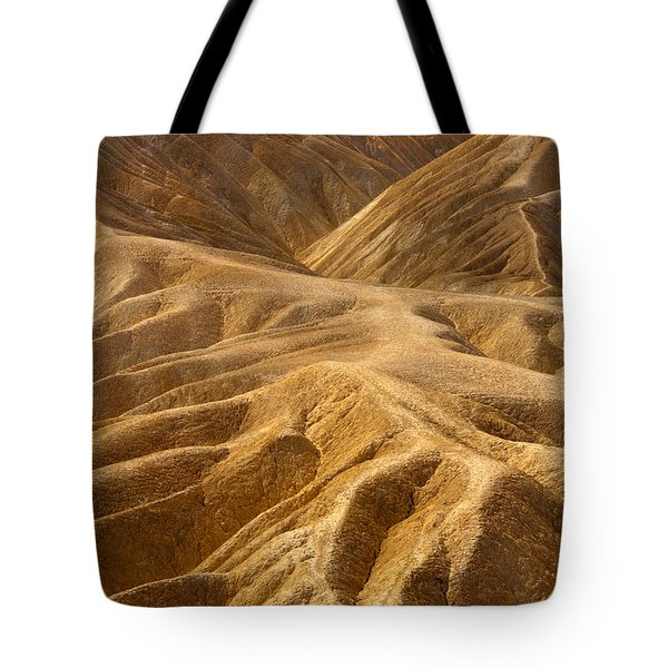 Zabriskie Morning Tote Bag by Mike  Dawson