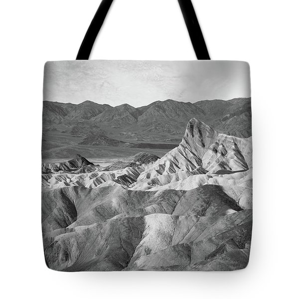 Zabriskie Point Landscape Tote Bag