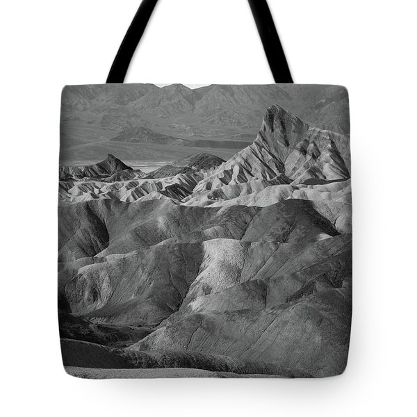 Zabriskie Point Portrait Tote Bag by Marius Sipa
