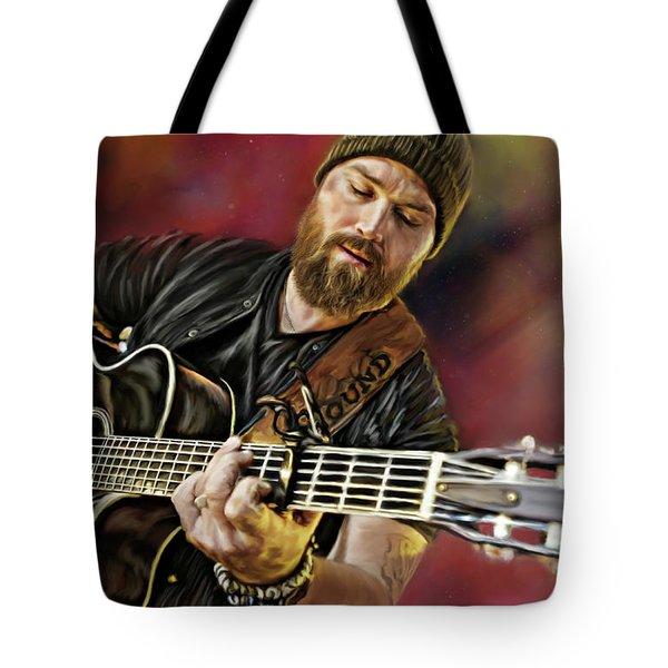 Zac Brown Tote Bag
