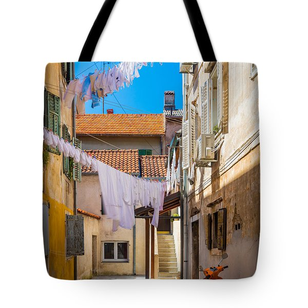 Zadar Alley Tote Bag