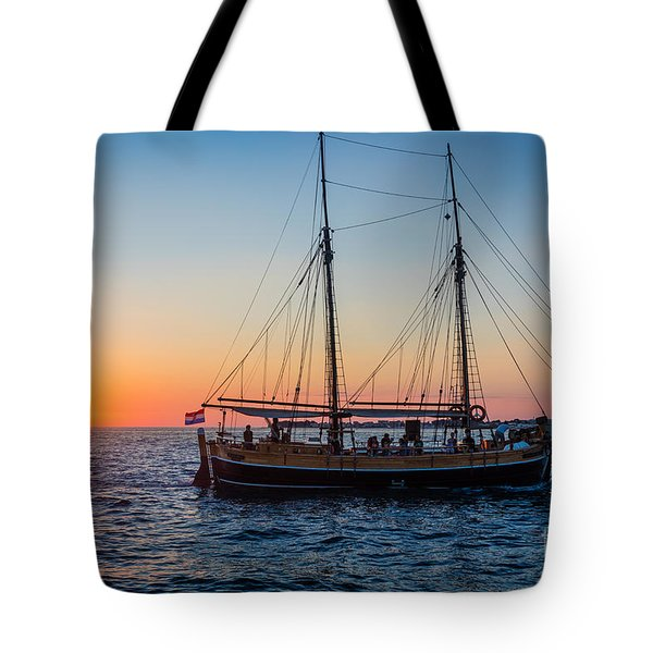 Zadar Ship Tote Bag