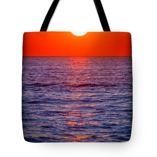 Zadar Sunset Tote Bag