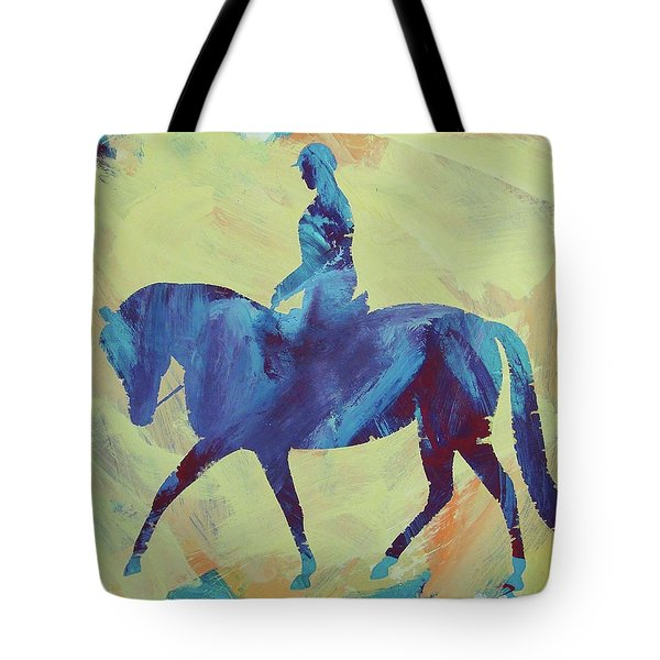 Tote Bag featuring the painting Zahrah by Candace Shrope