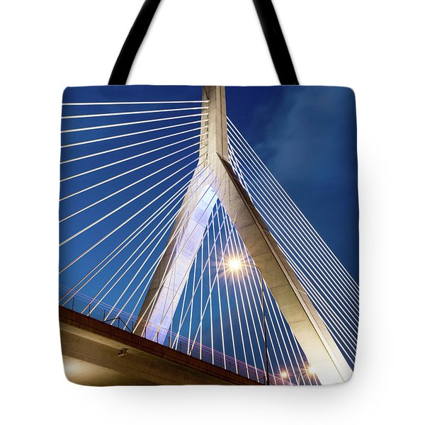 Zakim Bridge Upclose Tote Bag