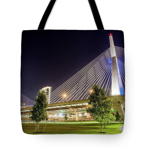 Zakim Bridge Tote Bag
