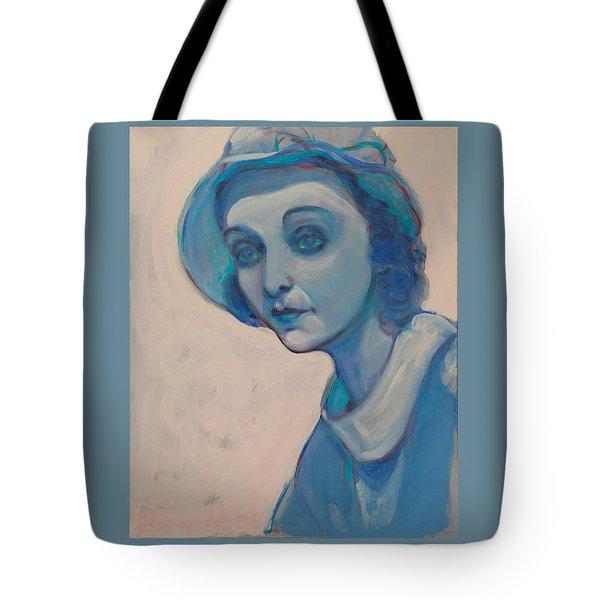 Zasu In Blue Tote Bag