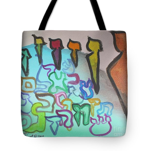 Zayin, Protecting The Tribe Ab24 Tote Bag