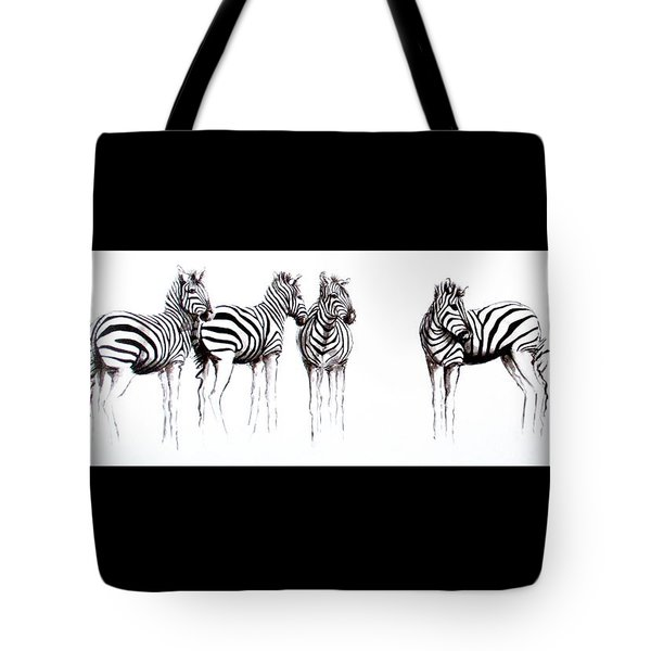 Zebbies Tote Bag