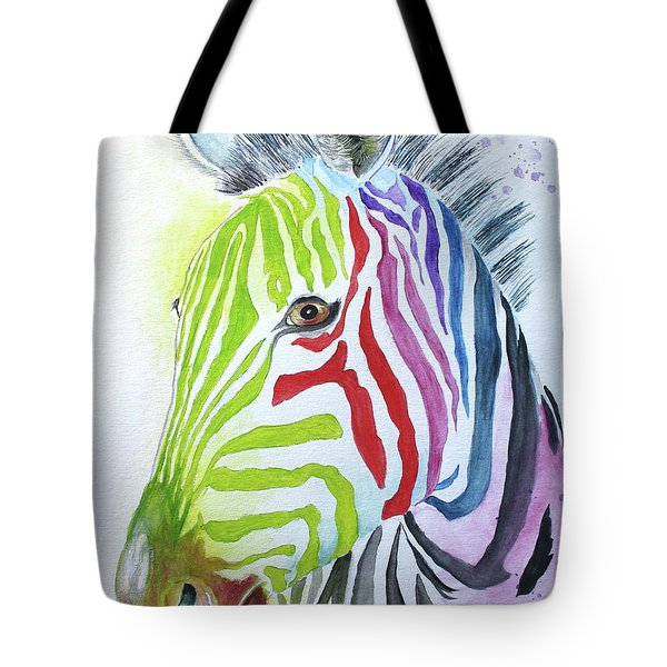 My Polychromatic Friend Tote Bag