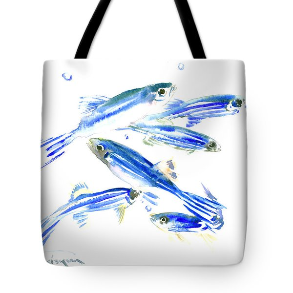 Zebra Fish, Danio Tote Bag