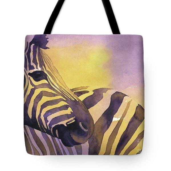Zebra IIi Tote Bag
