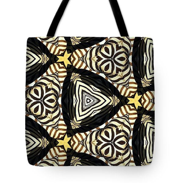 Zebra Iv Tote Bag by Maria Watt