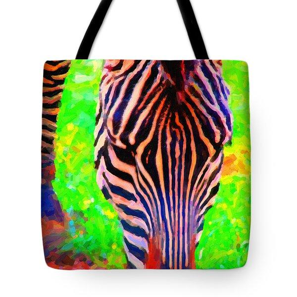Zebra . Photoart Tote Bag
