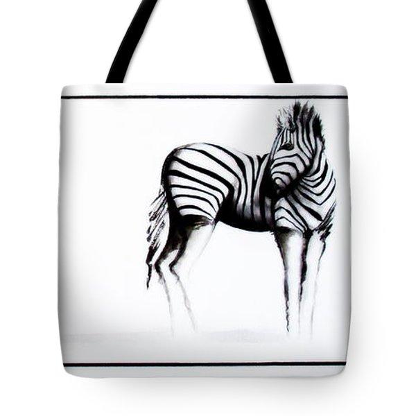 Zebra3 Tote Bag