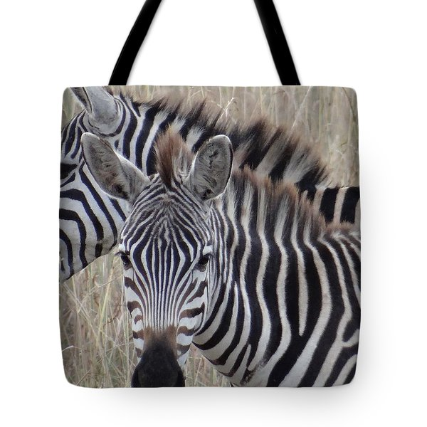 Zebras In Kenya 6 Tote Bag