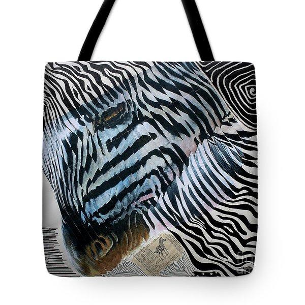 Zebratastic Tote Bag
