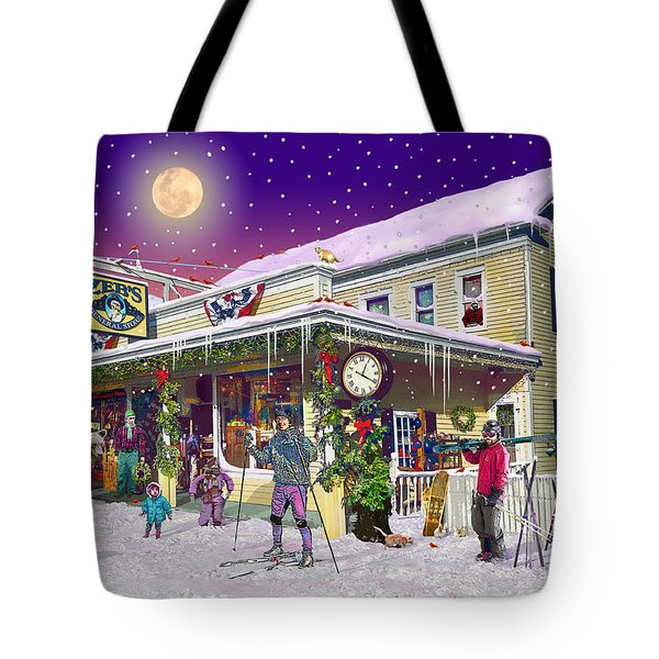 Zebs General Store In North Conway New Hampshire Tote Bag