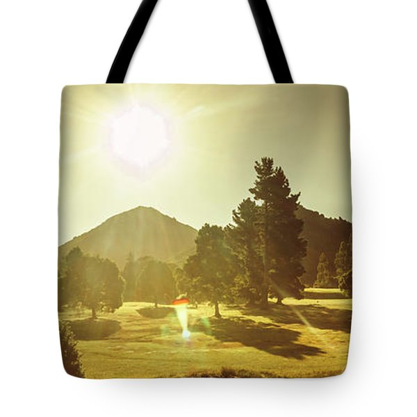 Zeehan Golf Course Tote Bag
