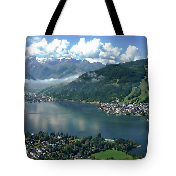 Zell Am See Panorama Tote Bag