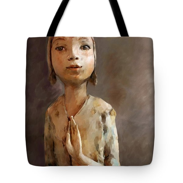 Zen Be With You Tote Bag