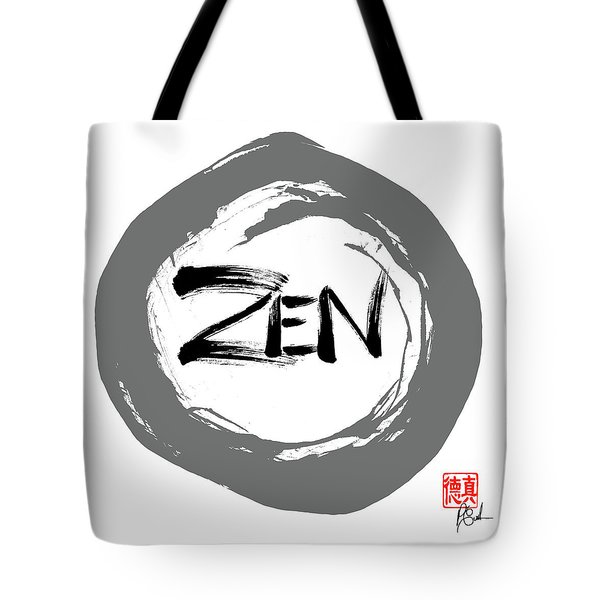 Zen Calligraphy II Tote Bag