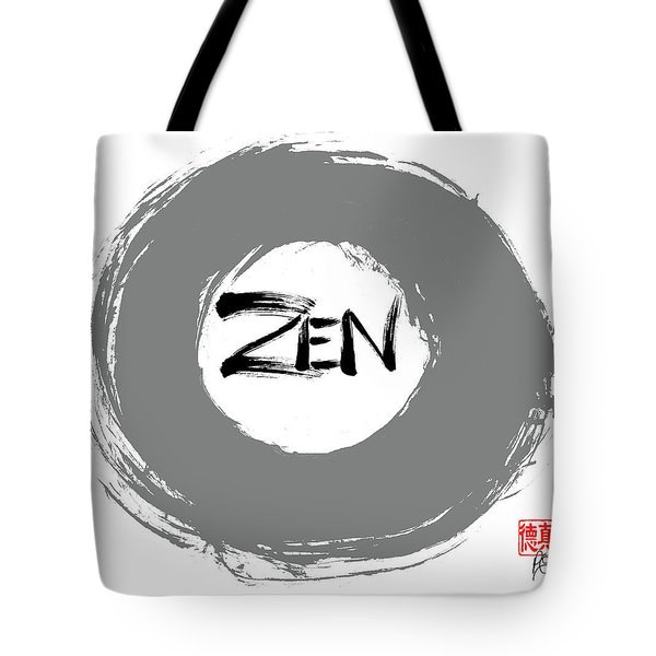 Zen Calligraphy 3 Tote Bag
