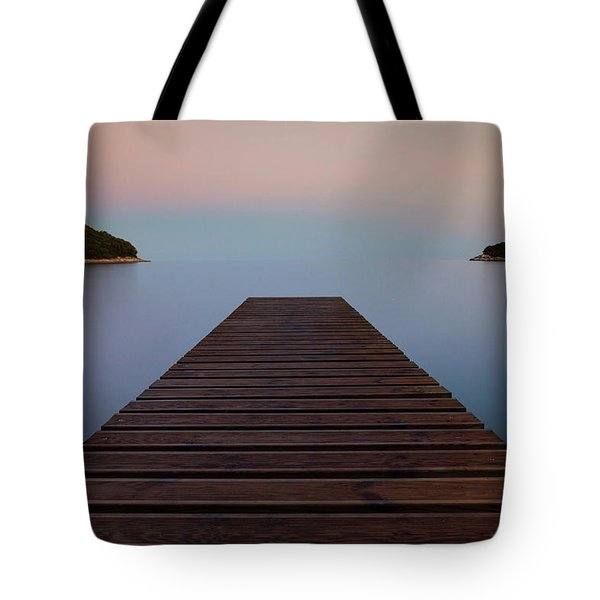 Tote Bag featuring the photograph Zen by Davor Zerjav
