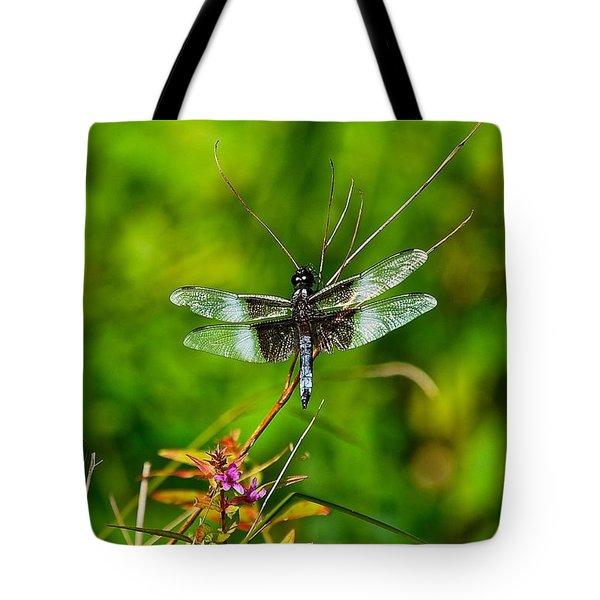 Zen Dragonfly 2 Tote Bag