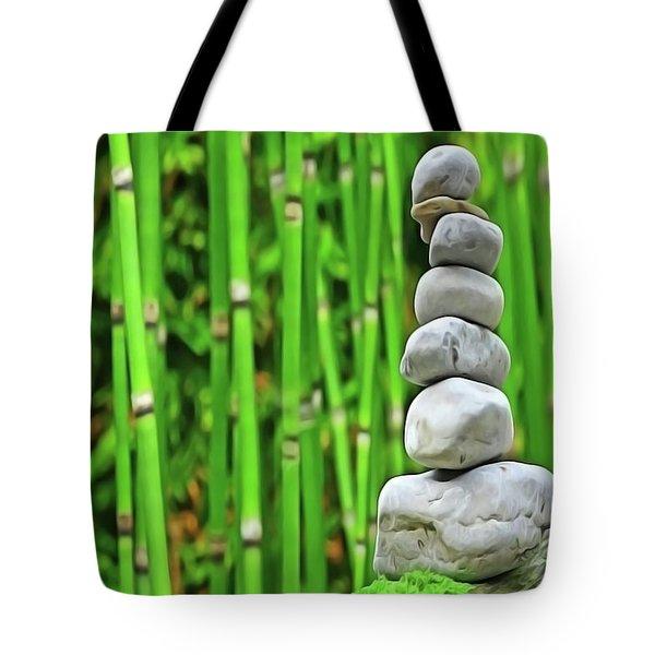 Zen Garden Tote Bag