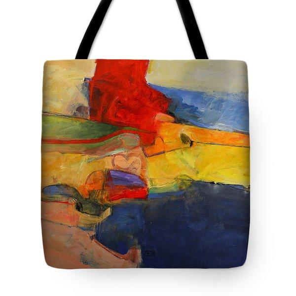Zen Harbor Tote Bag