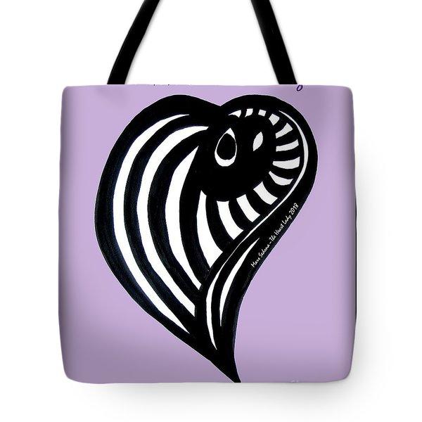 Zen Heart Curvy Life Tote Bag