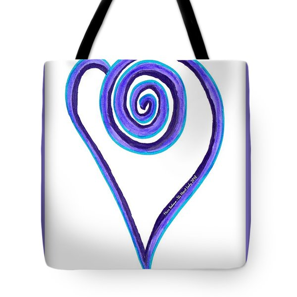 Zen Heart Off Balance Tote Bag