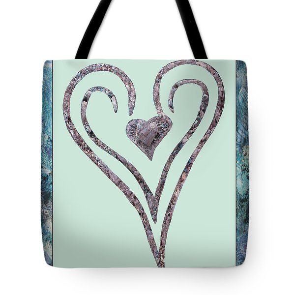Zen Heart Sedona Labyrinth Tote Bag